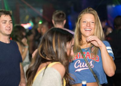 Cubs Fan on Mother's Dance Floor